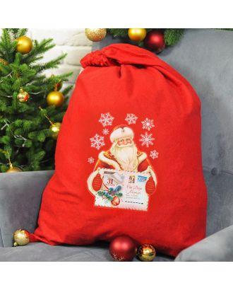 Мешок для подарков «От Деда Мороза», 60 х 90 см арт. СМЛ-120806-1-СМЛ0003292117