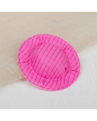 Шляпа для кукол, набор 10 шт, цв.розовый арт. СМЛ-8800-1-СМЛ3296391