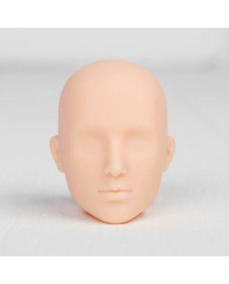 """Голова для изготовления куклы """"Молодой человек"""" арт. СМЛ-8835-1-СМЛ3296539"""
