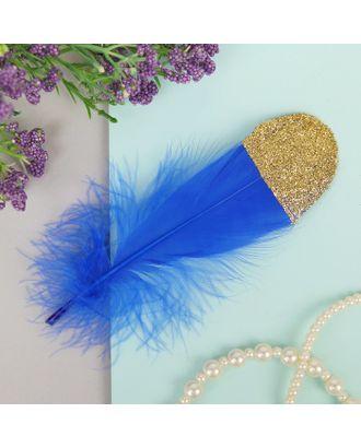 Набор перьев для декора 5шт, р.1шт 13,5х2 арт. СМЛ-8997-1-СМЛ3307374
