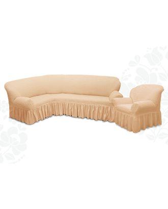Чехол для мягкой мебели 2пред диван угловой, кресло 6084, трикотаж, 100%пэ, упаковка микс арт. СМЛ-9520-1-СМЛ3355615