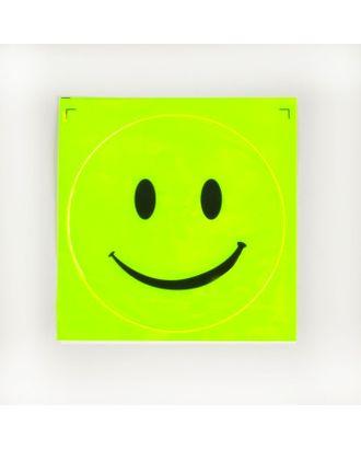 Светоотражающая наклейка «Смайл» д.11 см арт. СМЛ-9580-1-СМЛ3361198