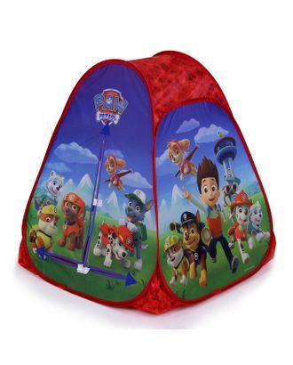 Игровая палатка «Щенячий патруль», в сумке 81x91x81 см арт. СМЛ-105619-1-СМЛ0003370695