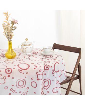 Скатерть для дачи Хозяюшка Кофе 140×180 см арт. СМЛ-21679-1-СМЛ3375178