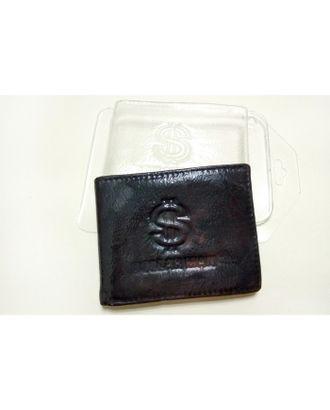 """Пластиковая форма для мыла """"Кошелек Доллармен"""", 8х10 см арт. СМЛ-9760-1-СМЛ3376086"""
