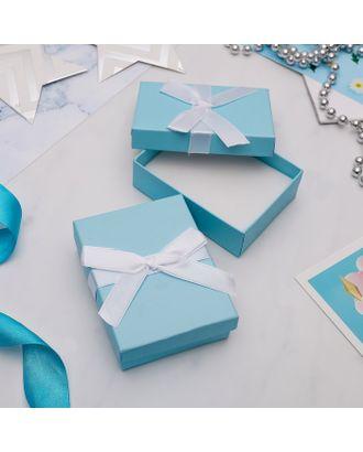 """Коробочка подарочная под набор  """"Тиффани"""", 7*9 (размер полезной части 6,4х8,4см) арт. СМЛ-21765-1-СМЛ3393391"""