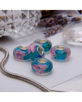 """Бусина """"Цветы"""" орхидея арт. СМЛ-21748-10-СМЛ3394577"""