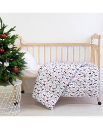 Одеяло Этель «Рога», 110 × 140 см, 100 % хлопок, фланель арт. СМЛ-28951-1-СМЛ3395039
