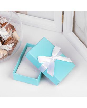 """Коробочка подарочная под набор  """"Тиффани"""", 7*9 (размер полезной части 6,4х8,4см) арт. СМЛ-21765-3-СМЛ3401520"""