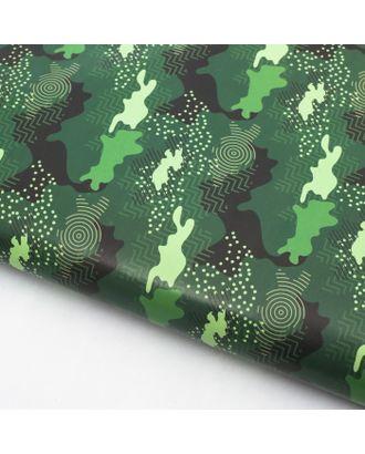 Бумага упаковочная глянец «Камуфляж», 70 х 100 см арт. СМЛ-120666-1-СМЛ0003418927