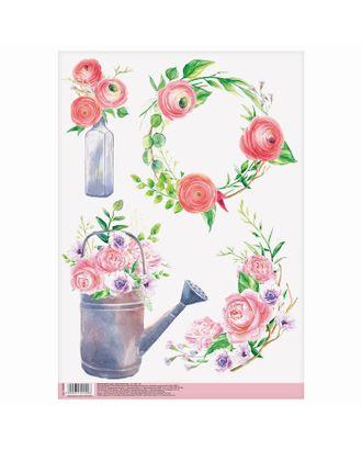 Декупажная карта «Весенний сад», 21х29,7 см арт. СМЛ-10158-1-СМЛ3429416