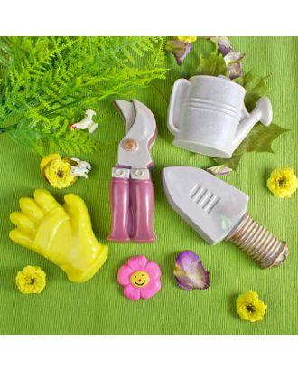 """Пластиковая форма для мыла 3D """"Садовый набор"""" арт. СМЛ-26241-1-СМЛ3436456"""