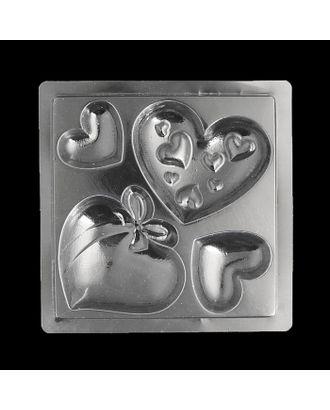 """Пластиковая форма для мыла МК """"Любовь"""" d от 3 до 5,5 см арт. СМЛ-10237-1-СМЛ3436475"""