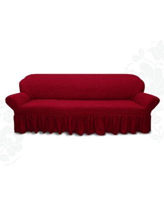 Чехол для мягкой мебели диван 3-х местный 6055, трикотаж, 100% п/э, упаковка микс арт. СМЛ-26248-1-СМЛ3447942