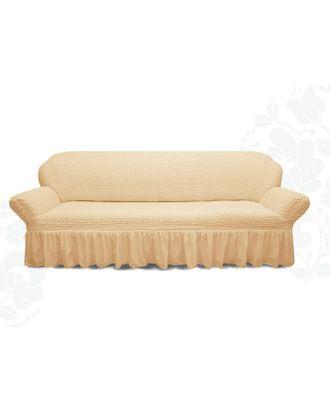 Чехол для мягкой мебели диван 3-х местный 6084, трикотаж, 100% п/э, упаковка микс арт. СМЛ-26249-1-СМЛ3447943