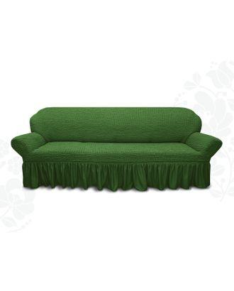 Чехол для мягкой мебели диван 3-х местный 6016, трикотаж, 100% п/э, упаковка микс арт. СМЛ-10404-1-СМЛ3447944