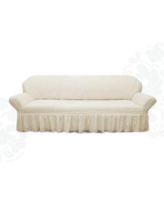 Чехол для мягкой мебели диван 3-х местный 6001, трикотаж, 100% п/э, упаковка микс арт. СМЛ-26250-1-СМЛ3447945