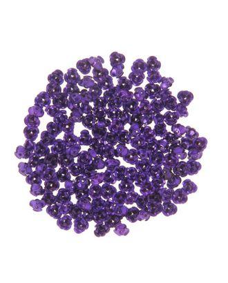 """Декор для творчества металл """"Розочки фиолет"""" набор 150 шт 0,6х0,6 см арт. СМЛ-10446-1-СМЛ3453465"""