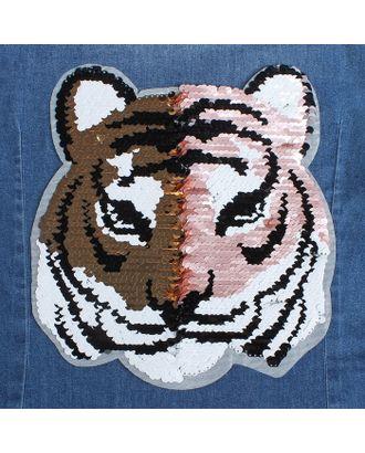 Термоаппликация «Тигр» р.21х25 см арт. СМЛ-10462-1-СМЛ3455433