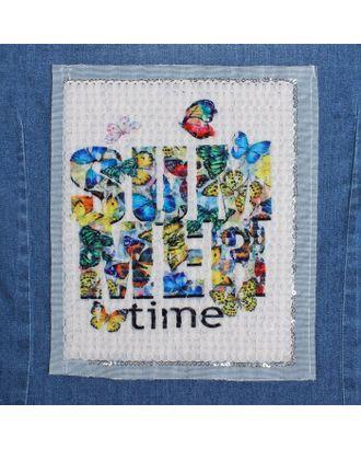 Аппликация из пайеток «Summer Time», 21,2х18,5 см арт. СМЛ-10477-1-СМЛ3455452