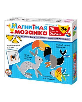 Мозаика магнитная «Зоопарк», 78 элементов арт. СМЛ-10518-1-СМЛ3456995