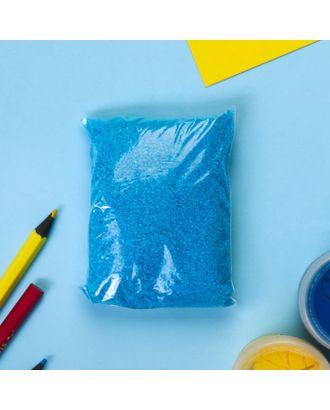 """Песок цветной в пакете """"Синий"""" 100 гр арт. СМЛ-26290-1-СМЛ3485235"""