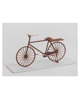 """Модель 3D """"Велосипед"""" из бумаги с лазерной резкой арт. СМЛ-11082-1-СМЛ3495068"""