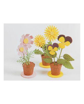 """Модель 3D """"Цветы"""" из бумаги с лазерной резкой арт. СМЛ-11083-1-СМЛ3495069"""