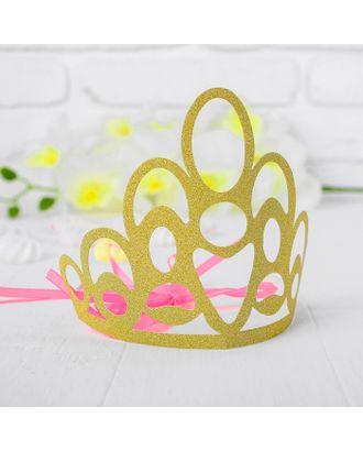 Корона «Красота», цвет серебряный арт. СМЛ-100709-2-СМЛ0003501354