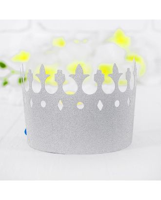 Корона «Вдохновение», цвет серебряный арт. СМЛ-100704-1-СМЛ0003501357
