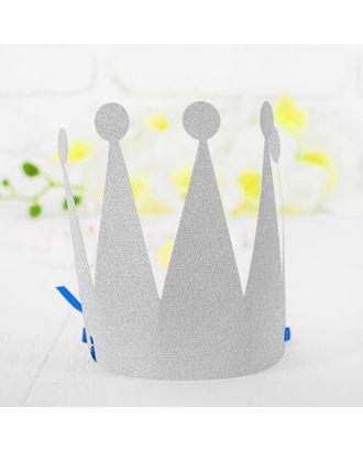 Корона «Царевна», цвет серебряный арт. СМЛ-100706-1-СМЛ0003501359