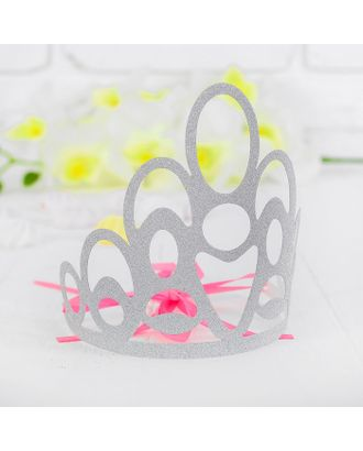 Корона «Красота», цвет серебряный арт. СМЛ-100709-1-СМЛ0003501360
