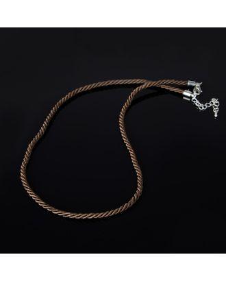 Шнурок текстиль+нейлон d=4мм, L=45см арт. СМЛ-22274-4-СМЛ3516193