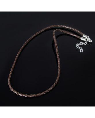 Шнурок искусственная кожа d=3мм, L=45см арт. СМЛ-22478-2-СМЛ3516197