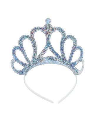Карнавальная корона «Принцесса», на ободке, цвет серебряный арт. СМЛ-100707-1-СМЛ0003536471