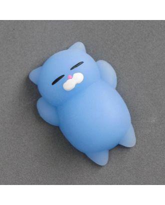 Мялка-антистресс «Кошечка», цвет синий арт. СМЛ-100621-1-СМЛ0003545509