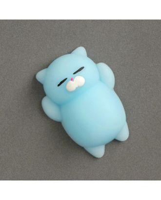 Мялка-антистресс «Кошечка», цвет синий арт. СМЛ-100621-7-СМЛ0003545518