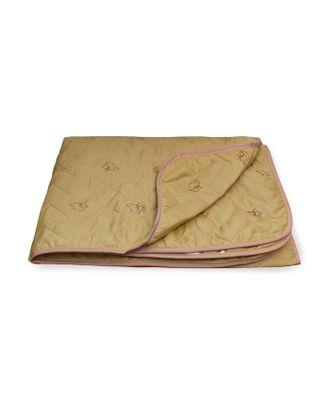 Одеяло Верблюд стеганое облегченное 140х205 см, полиэфирное волокно 150 гр/м2, п/э 100% арт. СМЛ-32997-1-СМЛ3549190