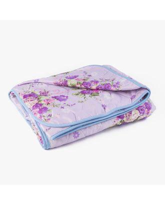Одеяло стеганое облегченное «Овечья шерсть», размер 140х205 см, цвет МИКС, полиэфирное волокно арт. СМЛ-33069-1-СМЛ3549193