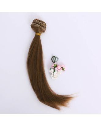 Тресс «Русая коса» р.25х150 см арт. СМЛ-26327-1-СМЛ3551429