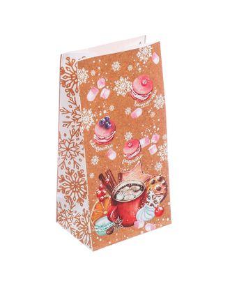 Пакет без ручек «Радости — сладости», 10 × 19,5 × 7 см арт. СМЛ-120837-1-СМЛ0003557165