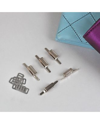 Декоративные элементы на прокол, 4,2х0,8 см, 5шт арт. СМЛ-22401-1-СМЛ3562548