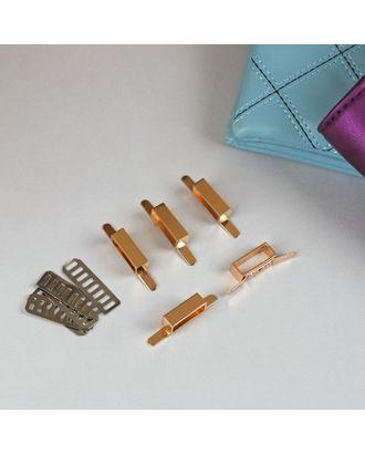 Декоративные элементы на прокол, 4,3х0,8 см, 5шт арт. СМЛ-22402-2-СМЛ3562551