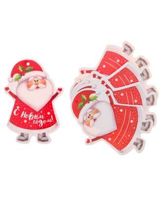 Шильдик декоративный на подарок «Дедушка Мороз», 6,5 × 9,1 см арт. СМЛ-120773-1-СМЛ0003566102