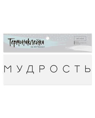Термотрансфер для текстиля «Мудрость» р.2х19,5 см арт. СМЛ-11918-1-СМЛ3573942