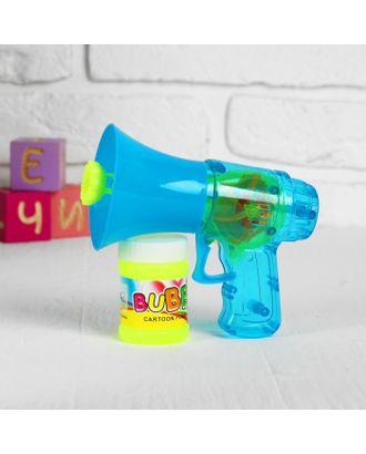 Мыльные пузыри - пистолет «Грамофон», МИКС, 40 мл арт. СМЛ-120884-1-СМЛ0003588623
