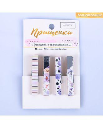 Прищепки декоративные с тиснением Dream, 11 × 7 см арт. СМЛ-12810-1-СМЛ3624120