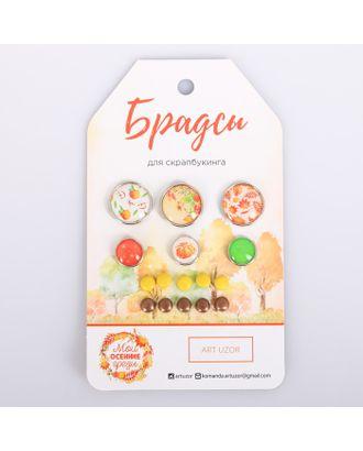 Набор брадсов для скрапбукинга «Мои осенние грёзы», 8 × 14 см арт. СМЛ-12945-1-СМЛ3633243