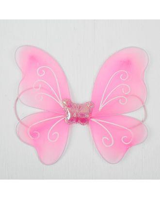 """Миниатюра кукольная-крылья на резинке """"Бабочка"""", цв.розовый арт. СМЛ-13061-1-СМЛ3649866"""