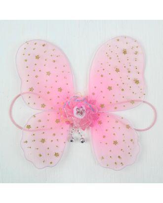 Миниатюра кукольная-крылья на резинке «Звездочки», цв.розовый арт. СМЛ-27876-1-СМЛ3649917